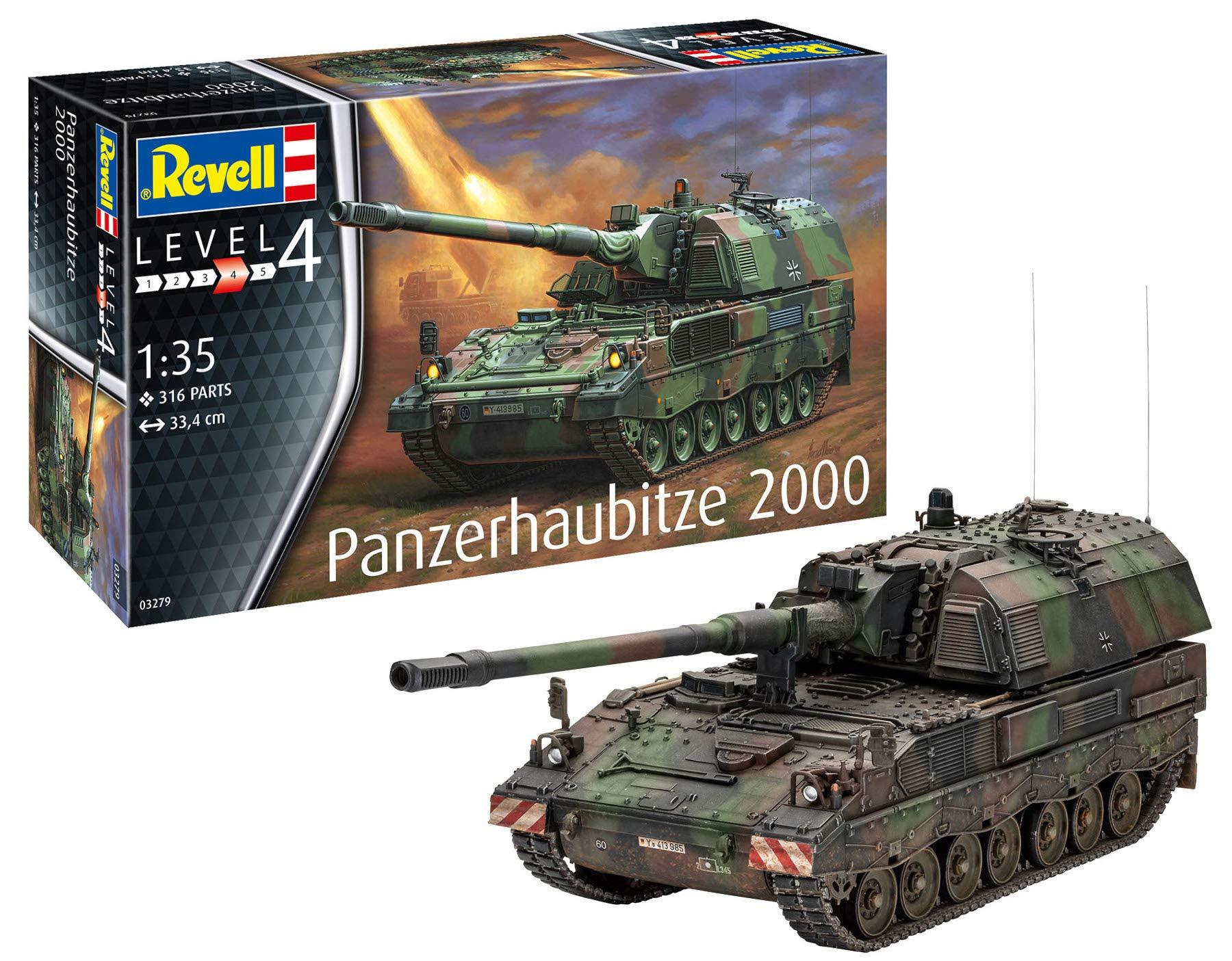 Revell 03279Panzerhaubitze 2000, 1:35 Scale Plastic Model kit