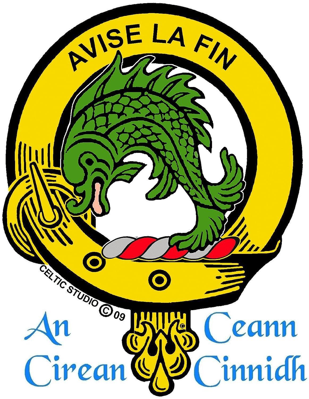 Kennedy Scottish Clan Crest Cufflinks