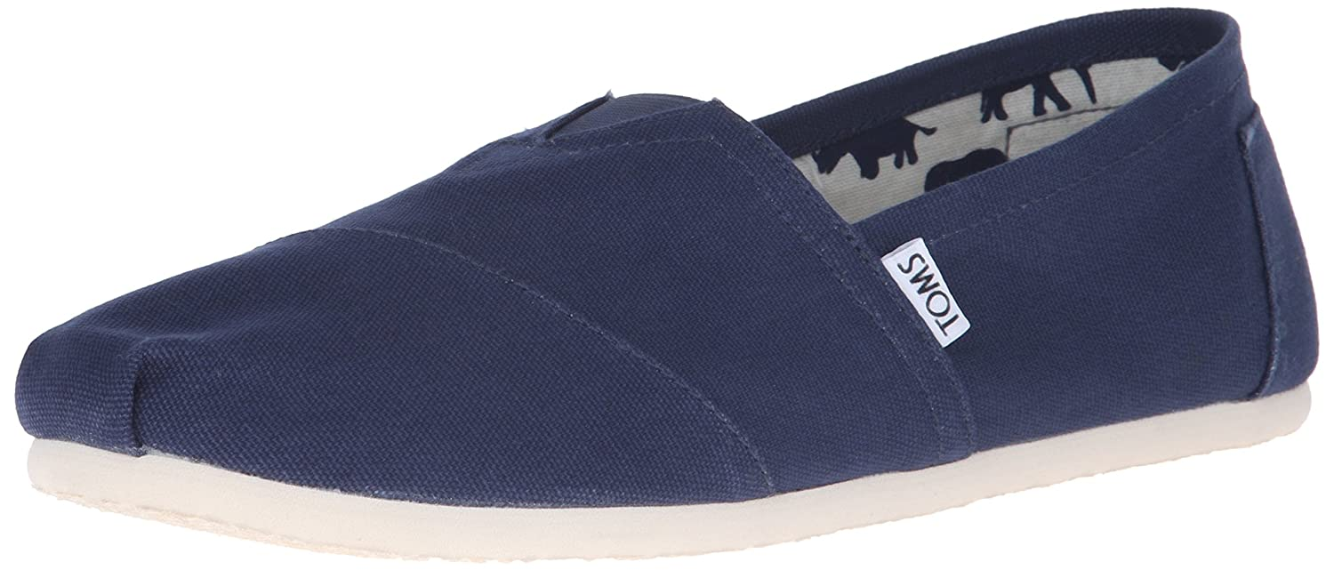 Amazon Toms Mens Classic Canvas Slip On Flats