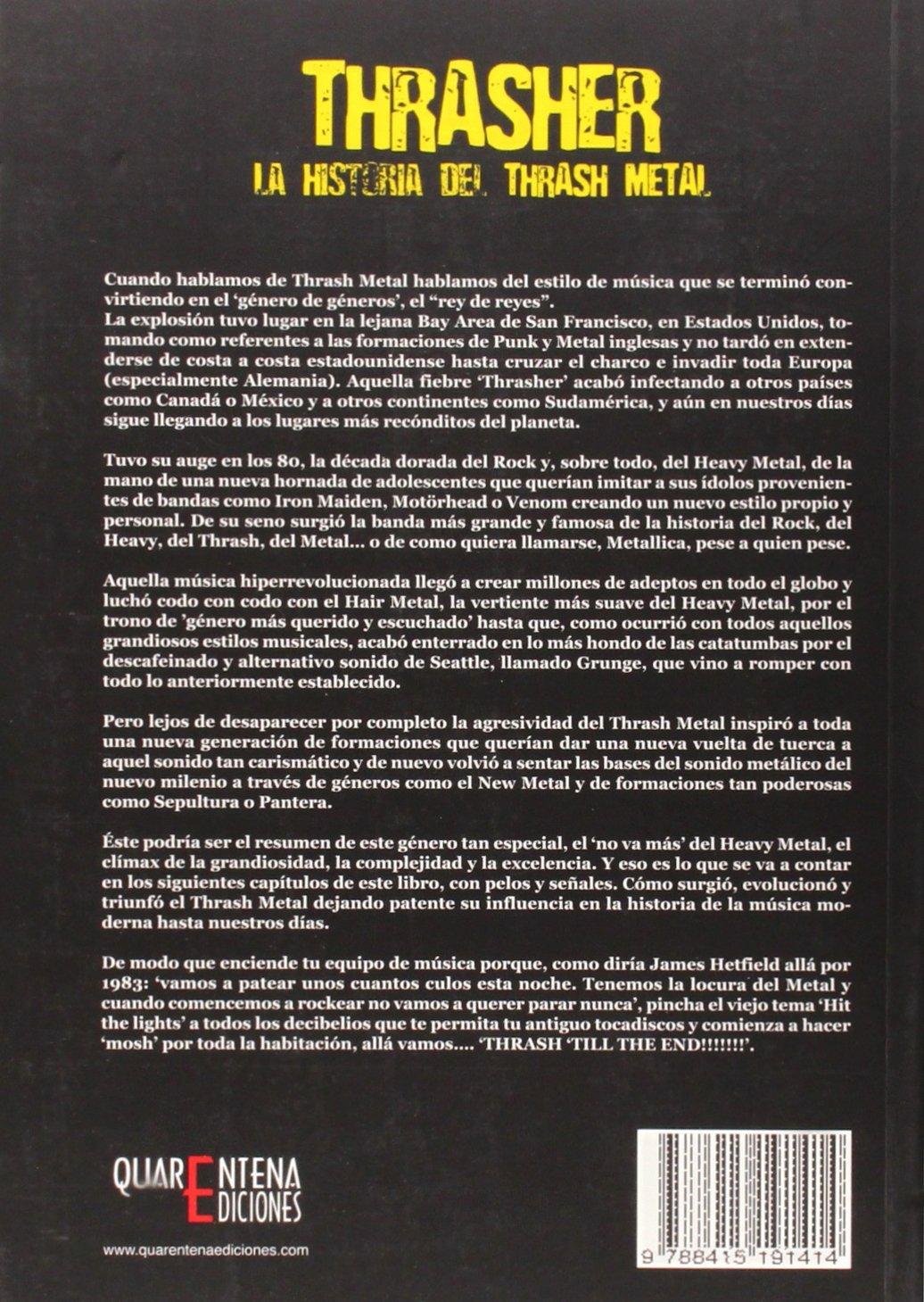 THRASHER: ANTONIO VALSECA: 9788415191414: Amazon.com: Books