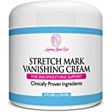 Stretch Mark Cream by Mommy Knows Best - Anti Cellulite Vanishing Cream - Remove Stretch Marks From Pregnancy - Clinically Proven Prevention Lotion Therapy