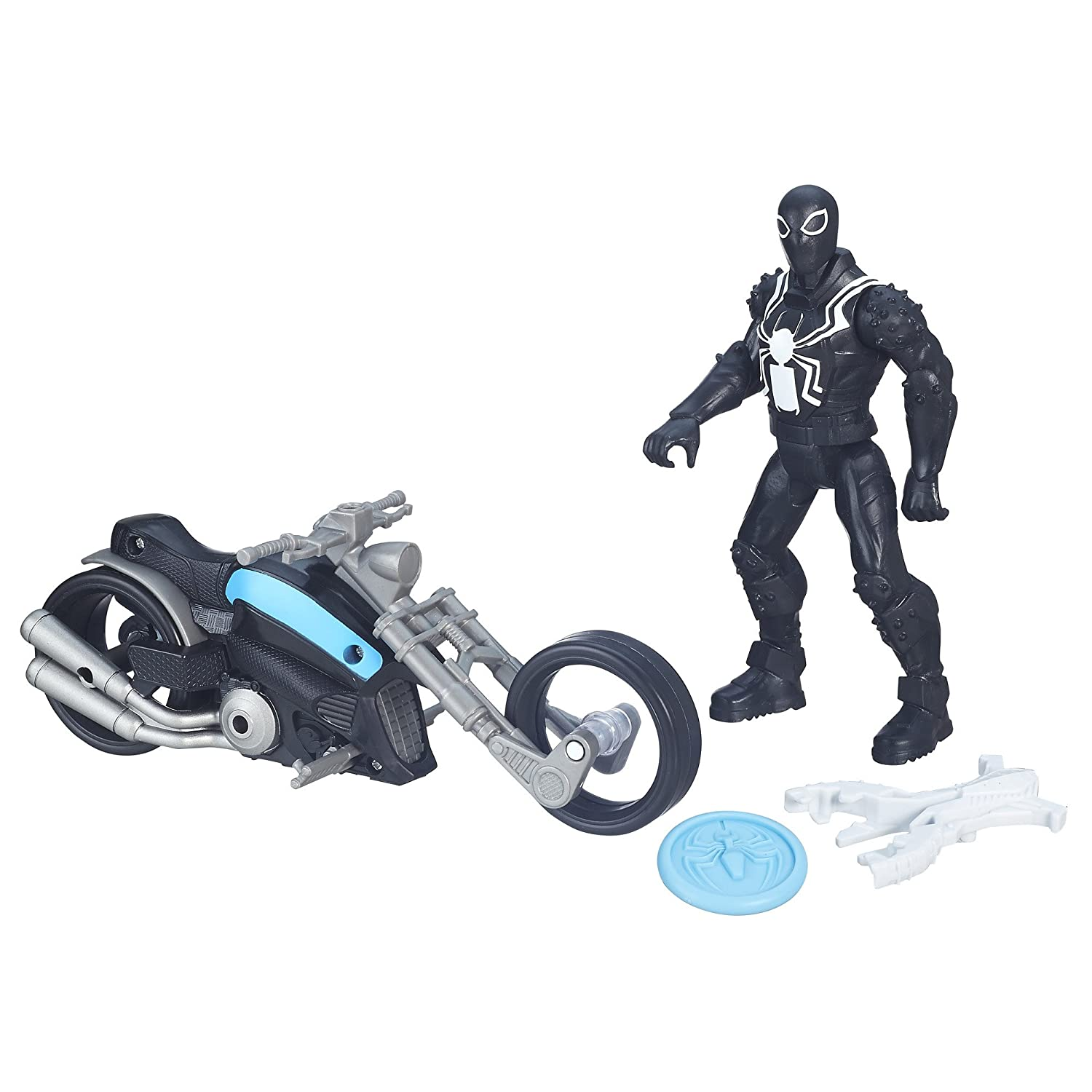 The Sinister Six Agent Venom with Symbiote Cycle Ultimate Spider-Man vs