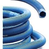 WilTec Manguera Piscina Azul con Manguitos 32mm 12m 165g/m Tubo plástico Piscinas jardín Fabricado en Europa: Amazon.es: Jardín