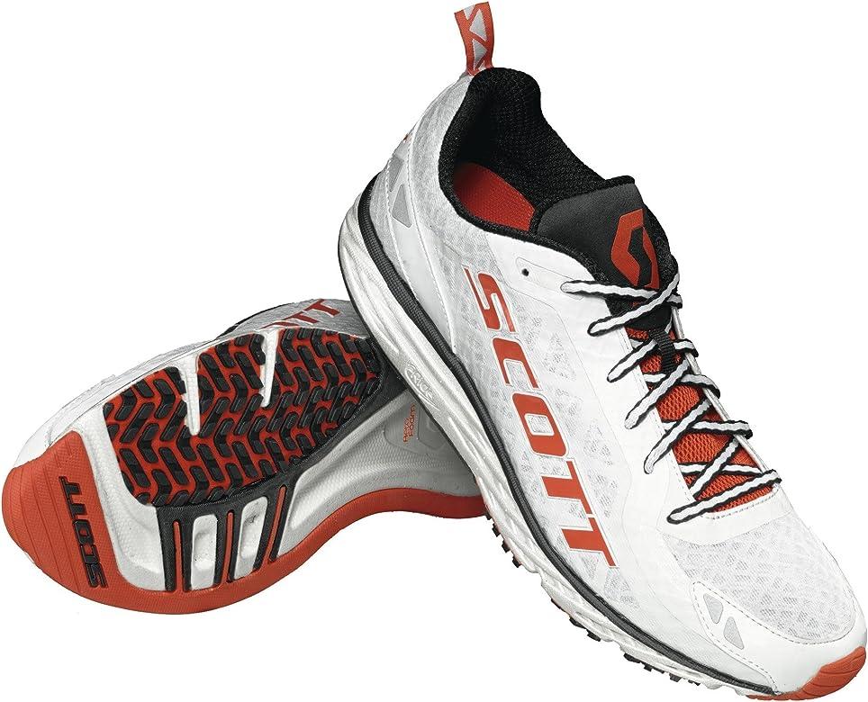 Scott Carrera Rocker 2.0 Zapatillas de running blanco/naranja, hombre, blanco y naranja: Amazon.es: Deportes y aire libre