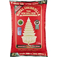 Royal Umbrella Thai Hom Mali Rice, 2.5 Kgs