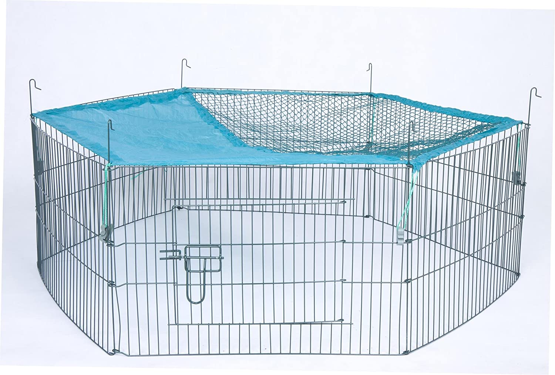 Trixie Natura 6Elementos al Aire Libre Correr para jóvenes Animales con Red, 58x 38cm