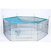 Trixie 6242 natura 6Elements Outdoor Run für junge Tiere mit Net, 58x 38cm