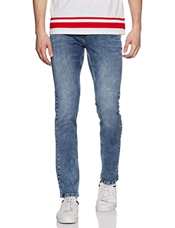fe265e19 LAWMAN PG3 Men's Slim Fit Jeans: Amazon.in: Clothing & Accessories
