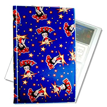 Betty Boop Lenticular Business Card File Holds 96 Changing Image