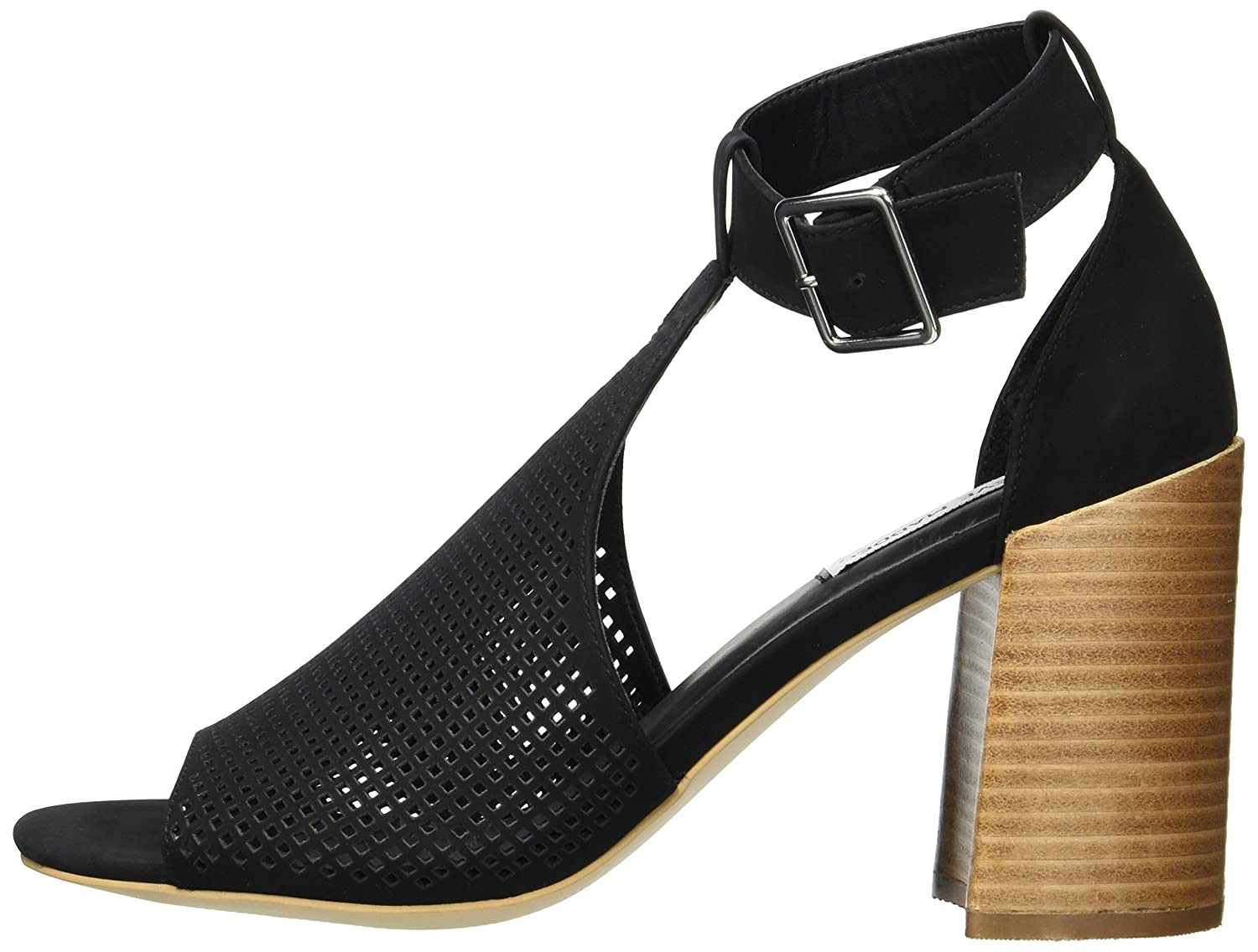 c089d714b25 Steve Madden Women s Sawyer Heeled Sandal  Buy Online at Low Prices in India  - Amazon.in