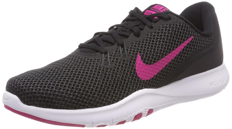 Nike Women's Flex Trainer 5 Shoe B078G81M5N 9.5 B(M) US Black Lethal Pink 004