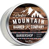 Shaving Cream for Men - Barbershop Scent - Made in Canada - Hydrating, Rich & Thick Lather for All Skin Types Including Sensi