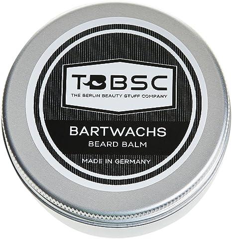 TBBSC Cera para barba   60g   Fabricado en Alemania   El bálsamo de cuidado y peinado de barba