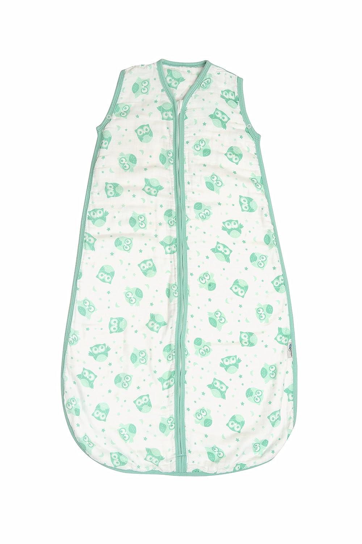 Slumbersac夏の赤ちゃん寝袋0.5 6-18ヶ月/ Tog - モスリンミントフクロウ - - 6-18ヶ月 -/ 90 cm B01ANVHH1A, ドウシムラ:38182e3d --- ijpba.info