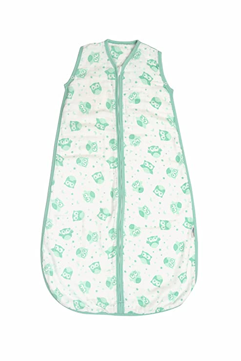 Slumbersac Saco de dormir de verano de muselina para bebé aprox. 0.5 Tog – Mint