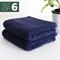 Heelium Bamboo Hand Towel for Sports & Gym, Ultra Soft, Super Absorbent, Antibacterial, 600 GSM, 25 inch x 15 inch