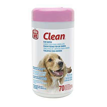Dogit 70535 Clean Ear Wipes