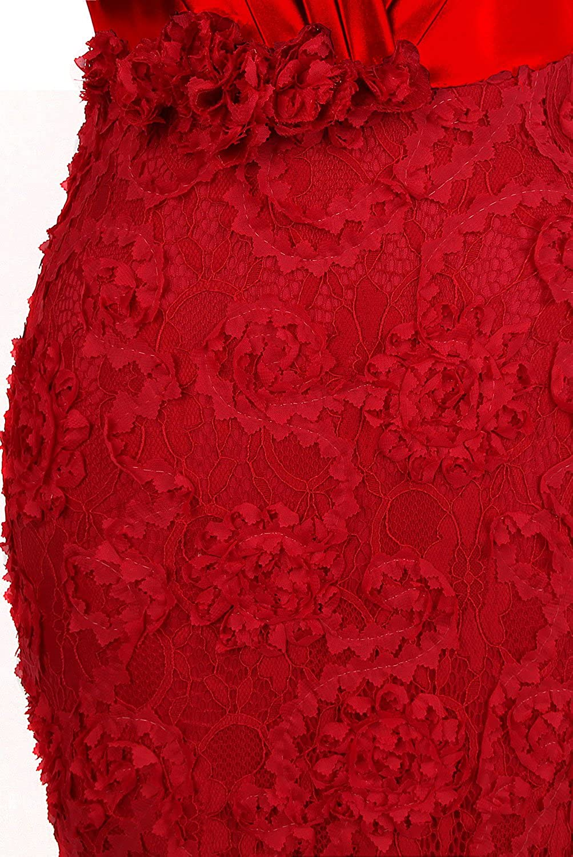 Angel-fashions Womens Sweetheart Ruched Applique Sheath Long Wedding Dress