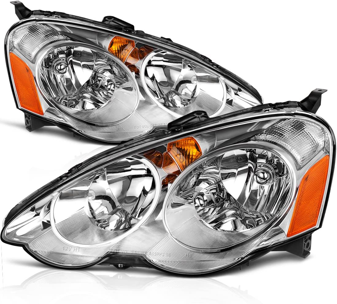 BULB KIT FOR 02 03 04 ACURA RSX COUPE 2DR BASE L TYPE-S BUMPER YELLOW FOG LIGHT