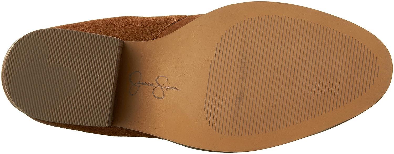 Jessica Simpson Women's M Tandra Ankle Bootie B01L0NB0FO 7 M Women's US Canela Brown 5617d4