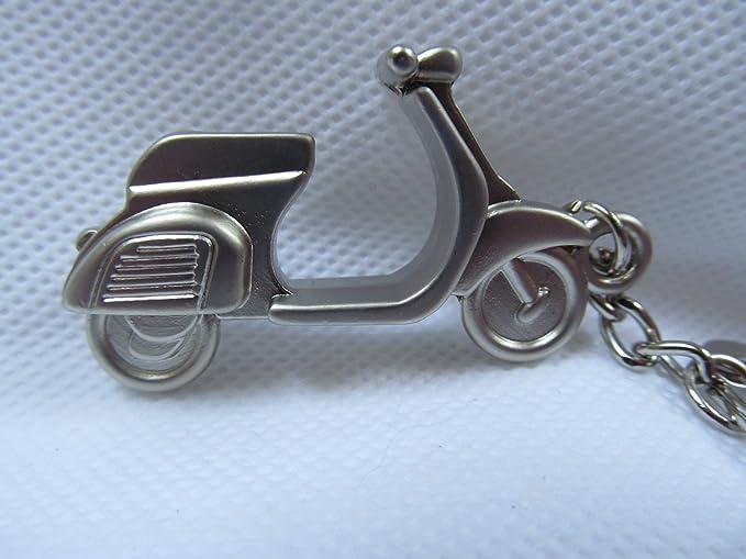 fat-catz-copy-catz - Llavero en vespa Lambretta Scooter Moped Diseño de chapa metal Bronze Vespa: Amazon.es: Ropa y accesorios