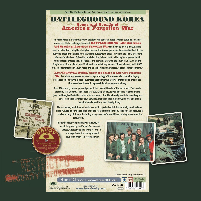 Battleground Korea: Songs And Sounds Of America's Forgotten War