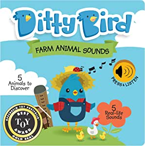 Our Best Interactive Noisy Farm Animals First Year Baby Book. Educational Musical Toys for one Year Old. Sound Books for Babies and Toddlers Ages 1-3. 1 Year Old boy Gifts. 1 Year Old Girl Gifts.