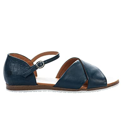 d8a3d61f7b2 Apple of Eden Nu Pieds Femme Bleu Marine - 38  Amazon.fr  Chaussures ...
