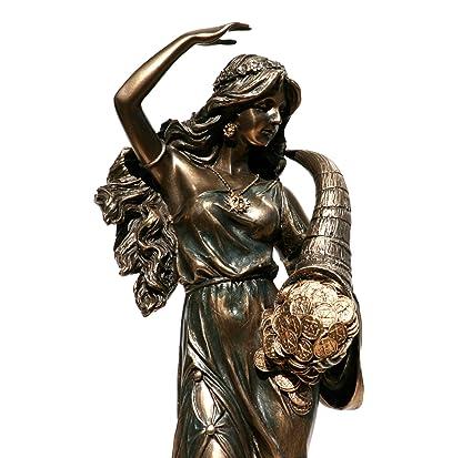 Amazon Tyche Luck Fortuna Greek Goddess Statue Sculpture