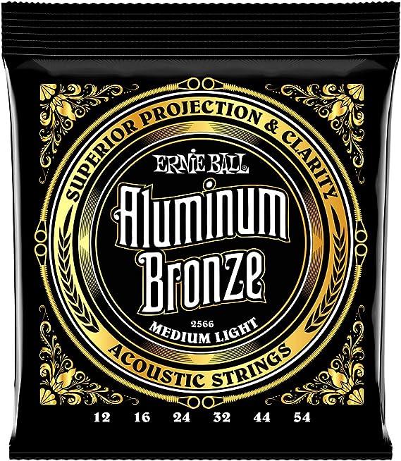 Ernie Ball Aluminum Bronze Medium Light Acoustic Set