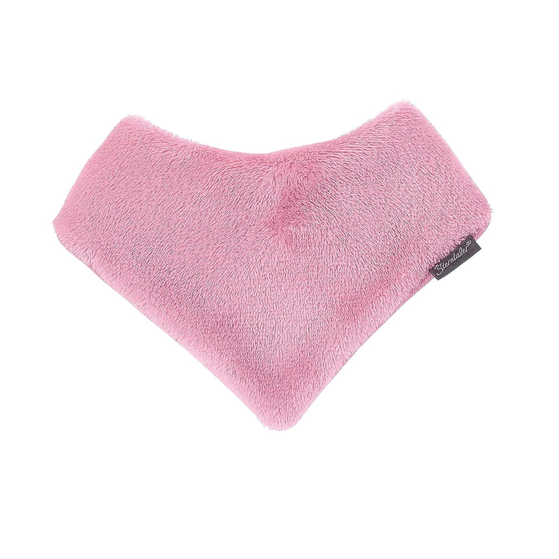 Sterntaler Fleece-Dreieckstuch mit Klettverschluss, Größe: S, Pink (Perlrosa) Größe: S 4101405