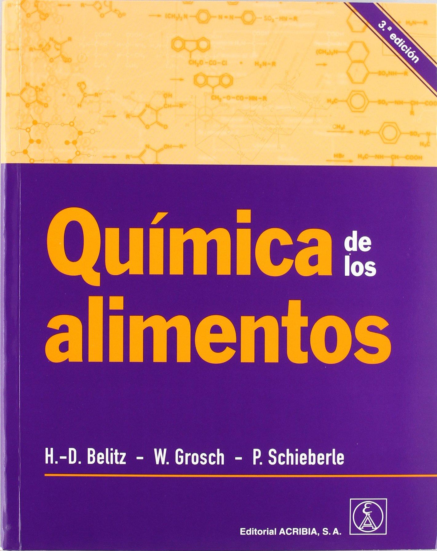 Química de los alimentos 3ªED: Amazon.es: Hans-Dieter Belitz ...