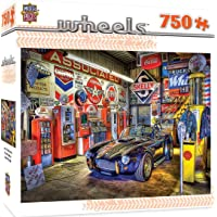 Deals on MasterPieces Wheels Jigsaw Puzzle Jewel of the Garage 31813