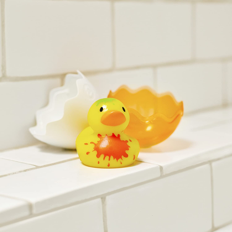 Amazon Munchkin Hatch Duck Bath Toy Yellow Baby