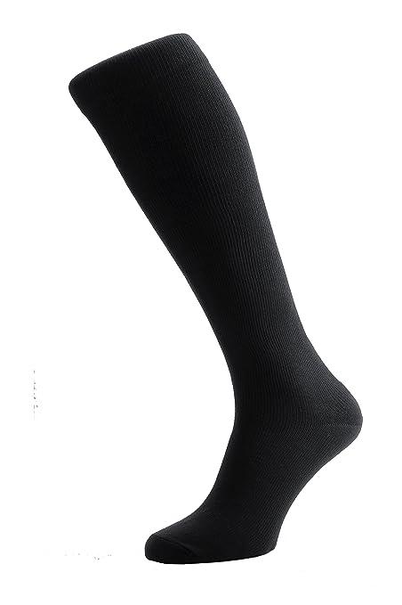 0286f7b67 Masters de Mayfair (Negro) Lujo en vuelo & Travel anti-dvt Medical largo  Graduado calcetines de compresión para hombres y mujeres - Calcetines Caña  Alta ...