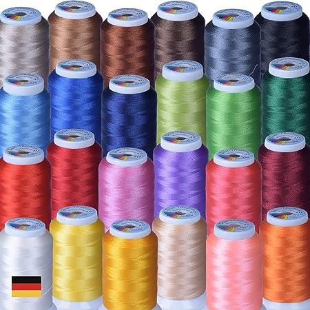 Multitalent 40 - Set de hilos para coser a máquina, poliéster ...