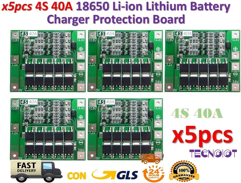 4S 20A 14.8V 16.8V Li-ion Lithium 18650 Battery BMS PCM Protection PCB Board SL