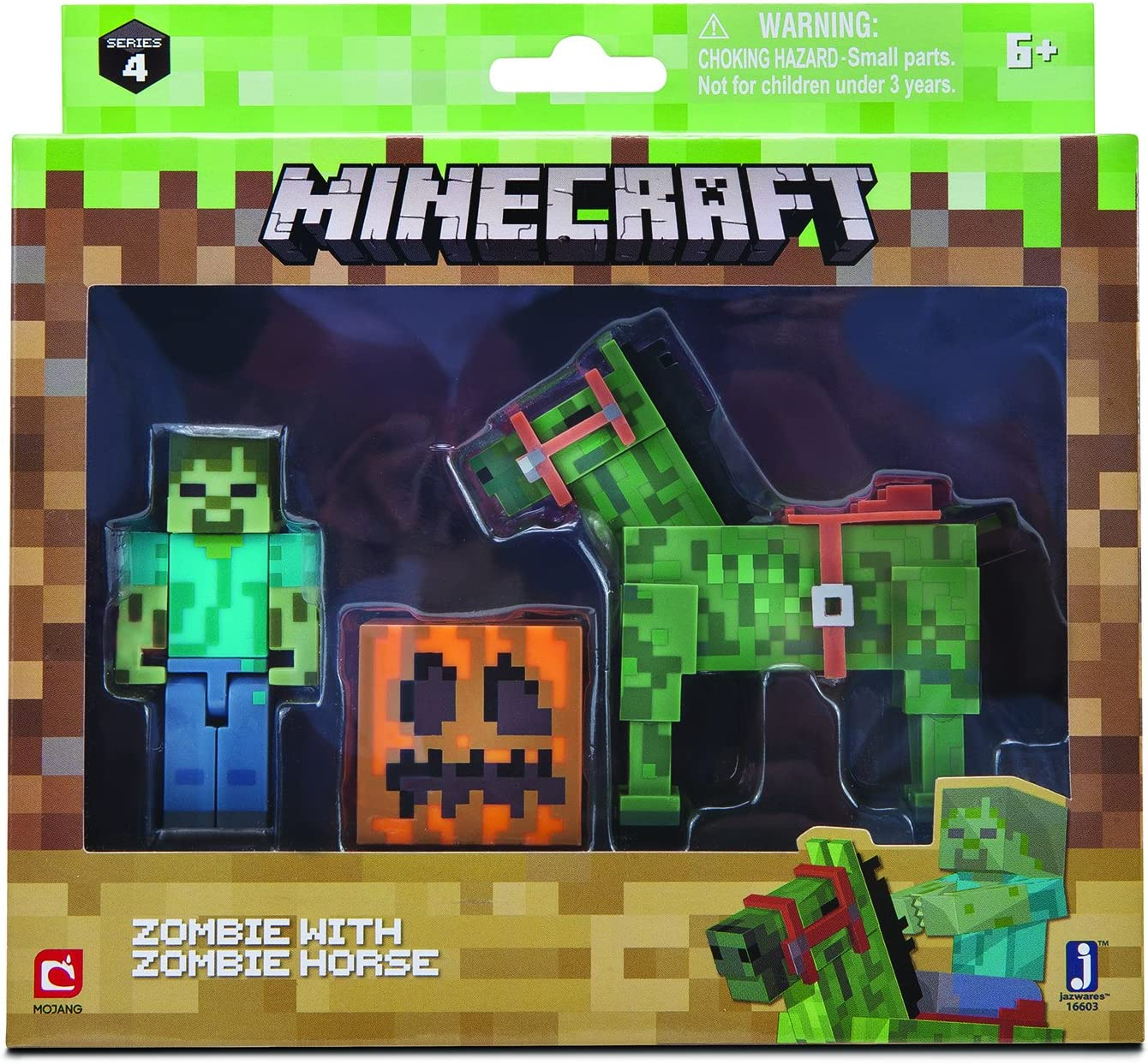 Unbekannt Minecraft 16603 Zombie caballo, unisex de Child: Amazon ...