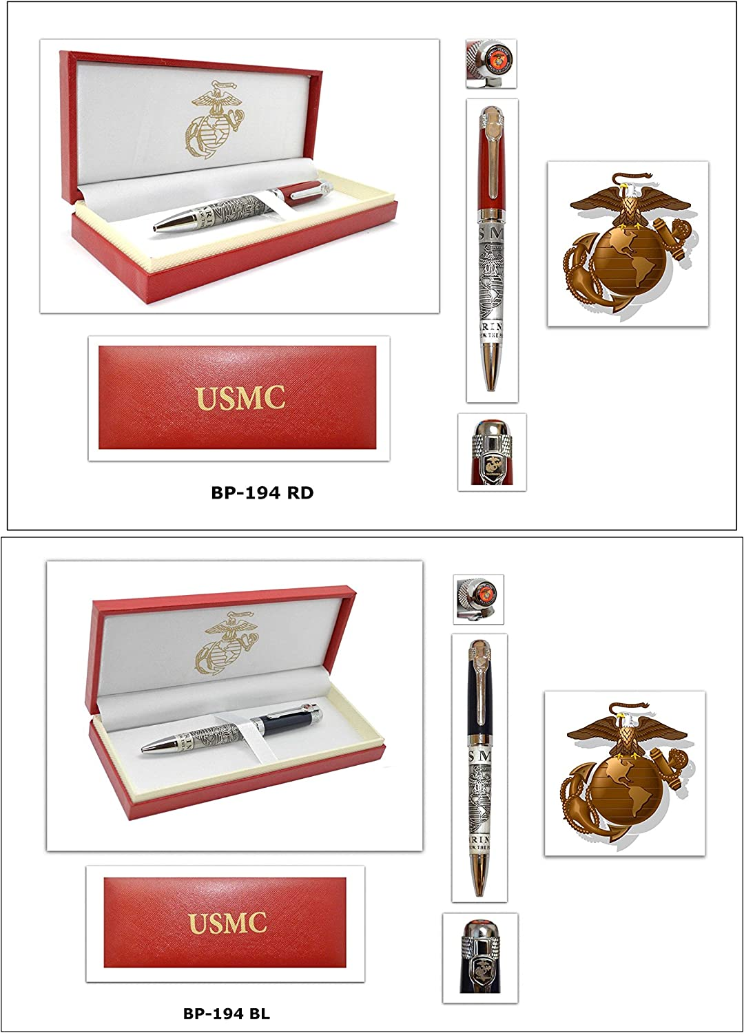 Memorial Day Special Officially Licensed USMC Pen Gift Set