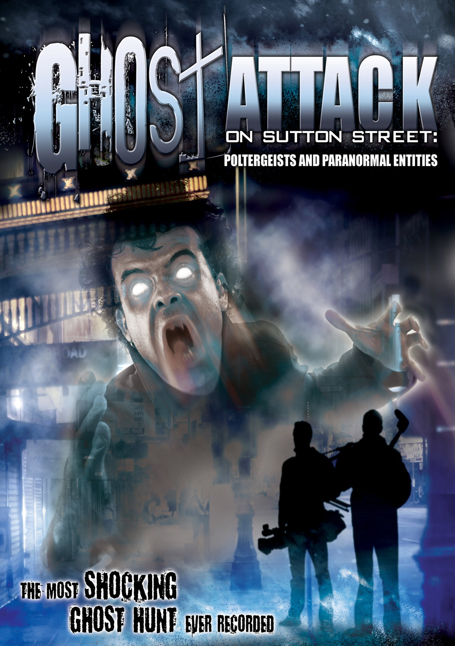 DVD : Mathew Davis - Ghost Attack On Sutton Street: Poltergeists And Paranormal Entities (Amaray Case)