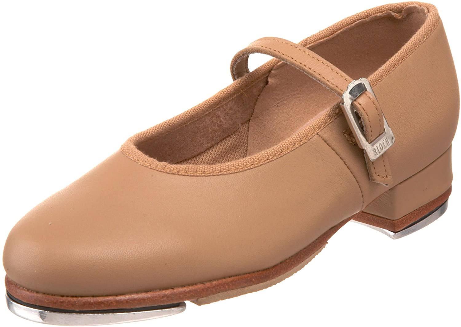 Amazon.com | Bloch Dance Girl's Tap On Leather Tap Shoe | Dance