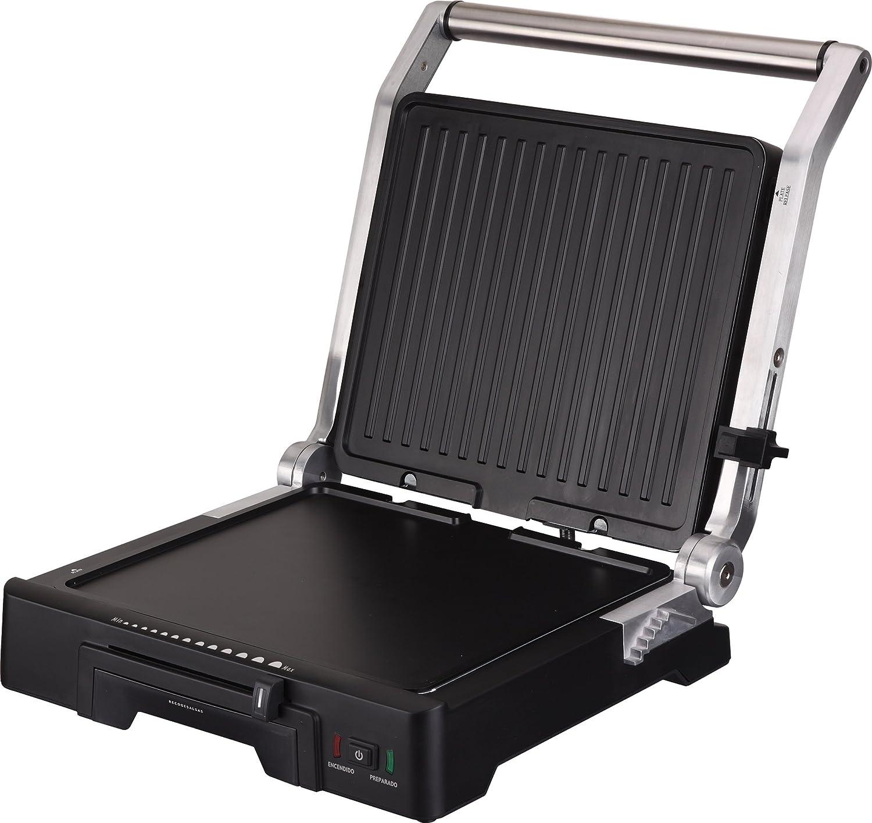 Aluminium//Noir 2000 watts Grill /électrique GR1100 Jata