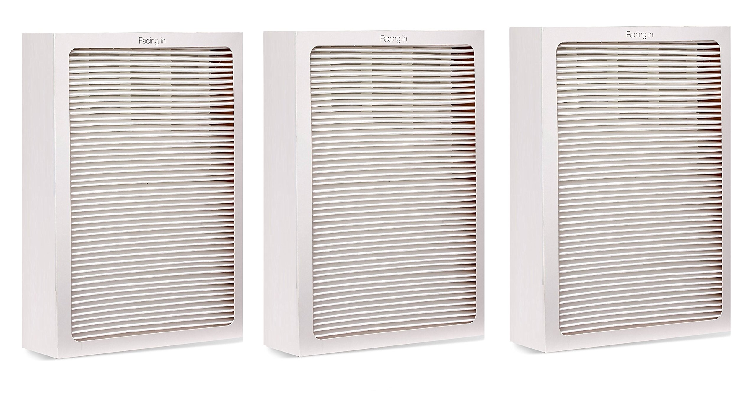 3 Pack, Particle Filter for Blueair 500/600 Series Air Purifiers by LSE Lighting