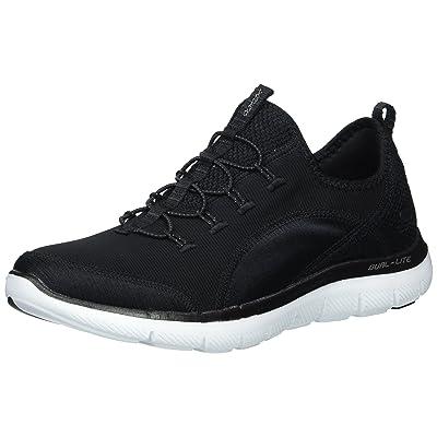 Skechers Women's Flex Appeal2.0 Mixed Media Sneaker   Fashion Sneakers