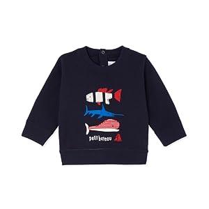 Petit Bateau Freddy, Sweat-Shirt Bébé Garçon