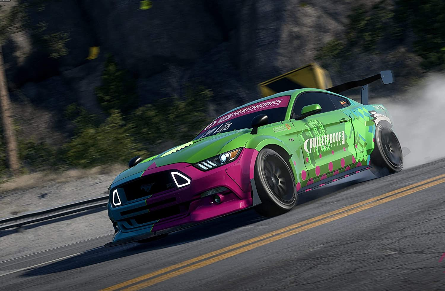 Amazon Com Kin Leung Dz 174 Need For Speed Payback Ford Mustang