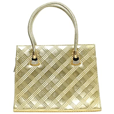 531054d59b87 Bagaholics Girls Clutch Ladies Purse Sling Clutches Side Bag Gift for Women  (Gold)