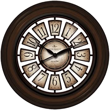 Round Majestic Hollow Wall Clock