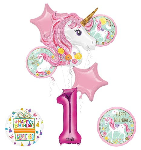 Amazon Unicorn Party Supplies Believe In Unicorns 1st
