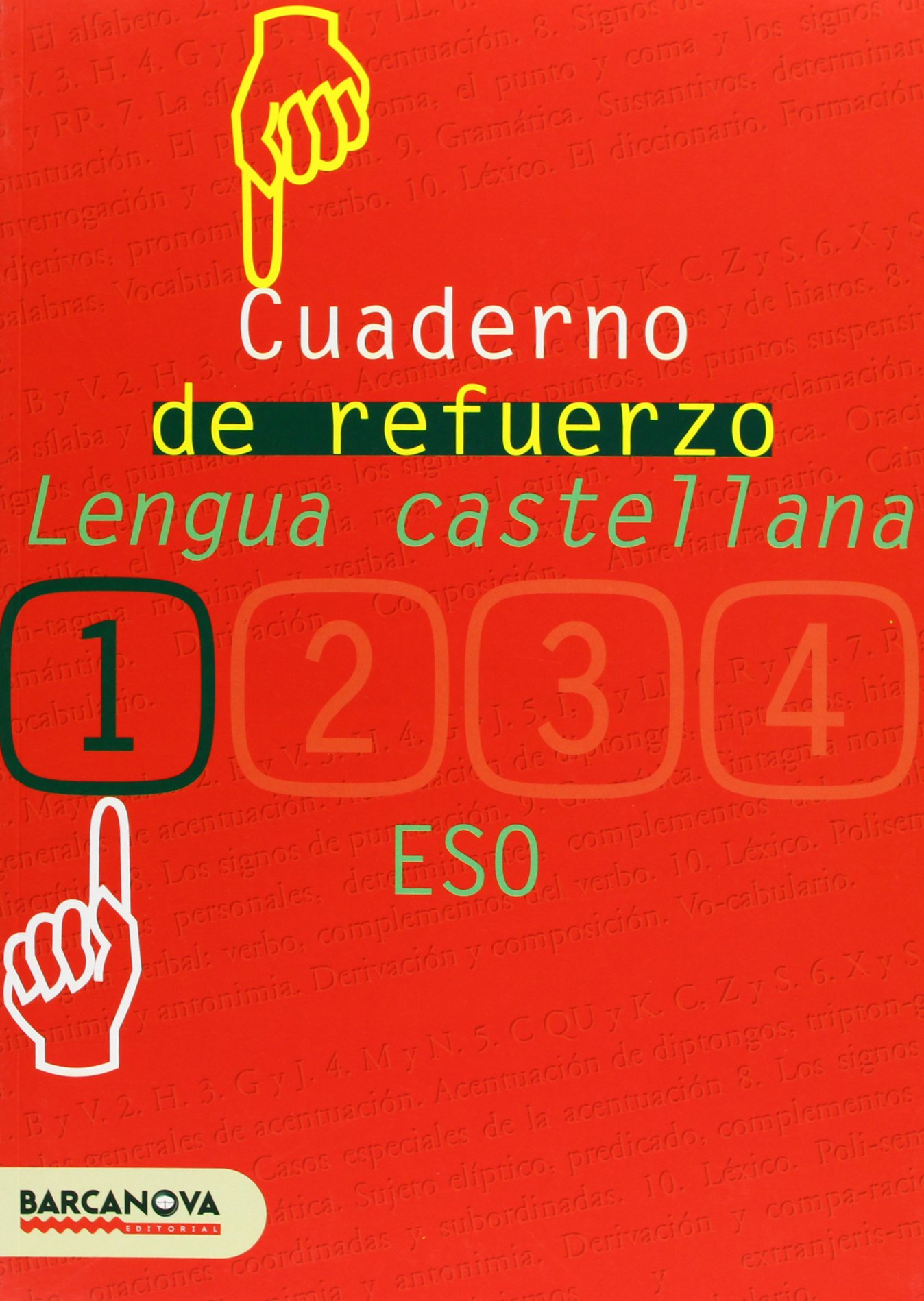 Cuaderno de refuerzo de lengua castellana 1 Materials Educatius - Eso - Lengua Castellana - 9788448917227: Amazon.es: Francisca Ezquerra Lezcano: Libros